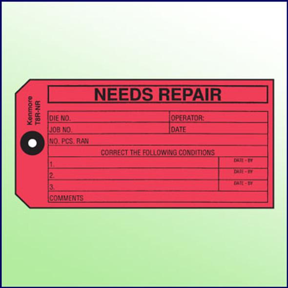 Needs Repair Tag