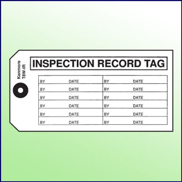 Inspection Record Tag
