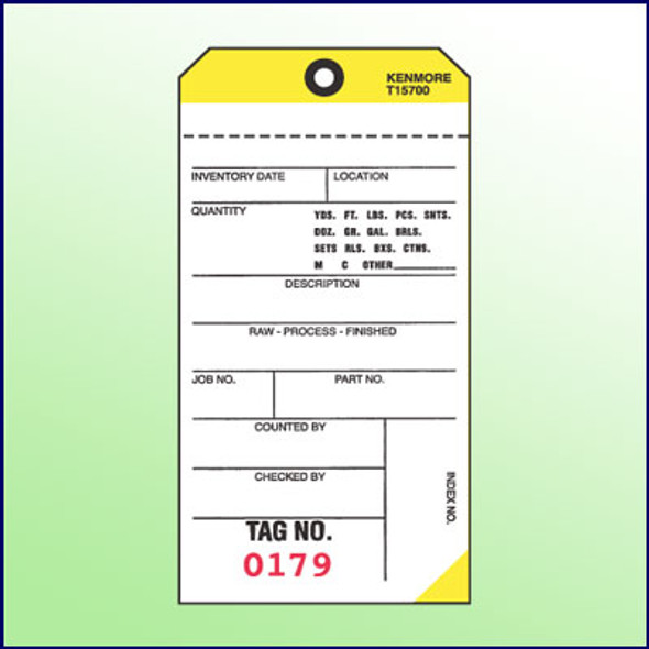 2Part NCR Tags  (Yellow)