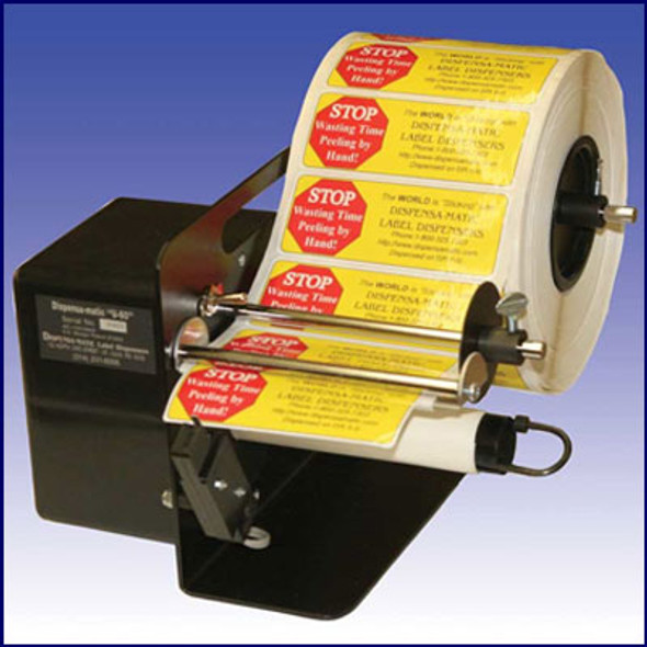 Dispensamatic U-60 Electric Label Dispenser - 4-6""