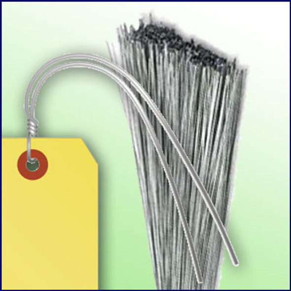 12 inch - 21 Gauge Galvanized Tag Wires (Extra Heavy Duty)