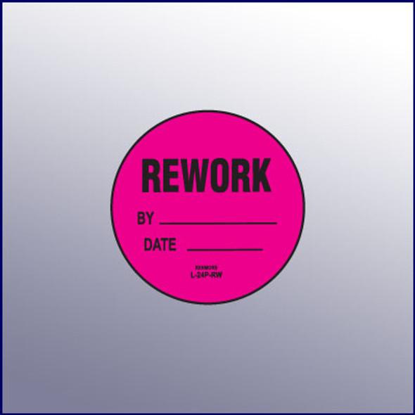Rework Label 1-3/4 dia.