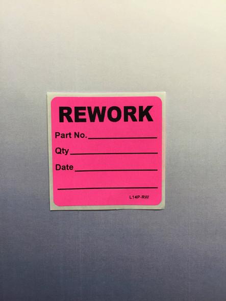 Rework Mini Label 2 x 2