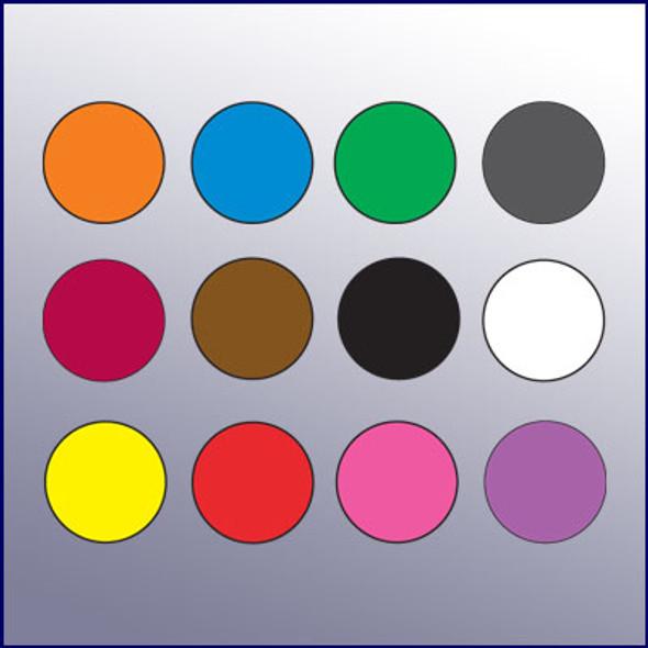 "Color Code Rotation Dots (1/2"" dia.)"