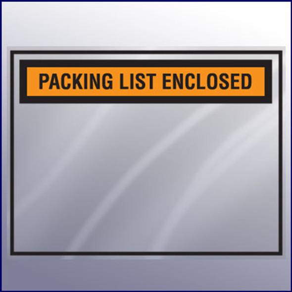 Packing List Enclosed Envelope - Backloading