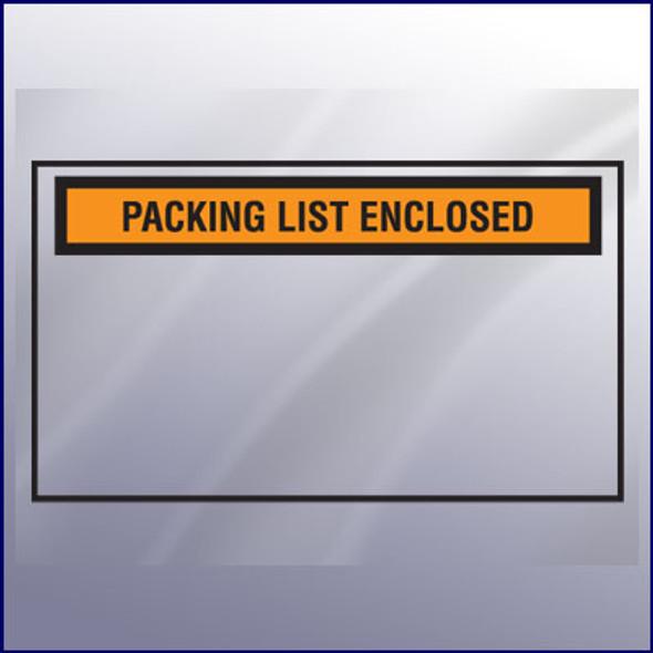 Packing List Enclosed Envelope - Toploading