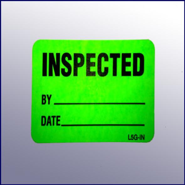 Inspected Mini Label 1-1/4 x 2