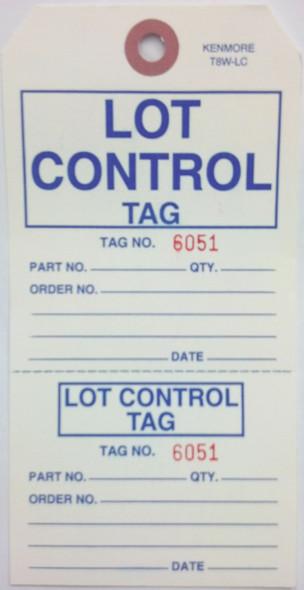 Lot Control Tag