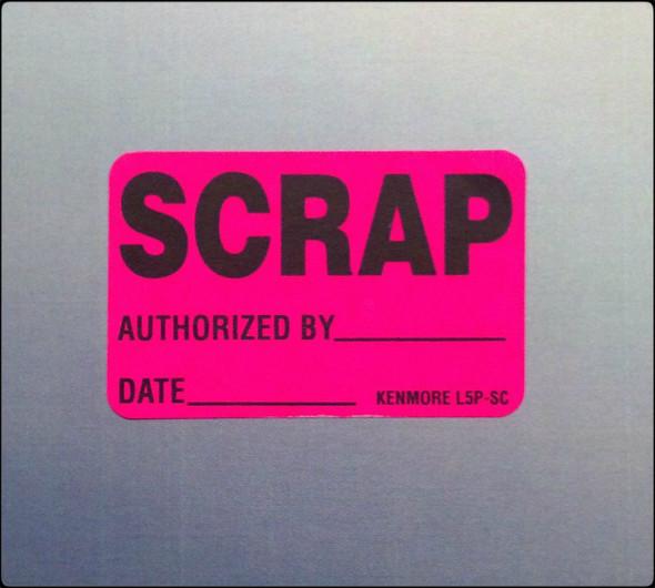 Scrap Mini Label 1-1/4 x 2