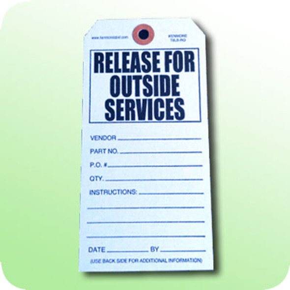 Released for Outside Services Tag