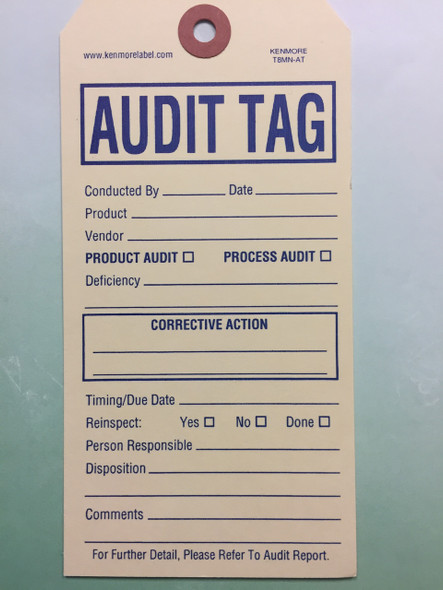 Audit Tag