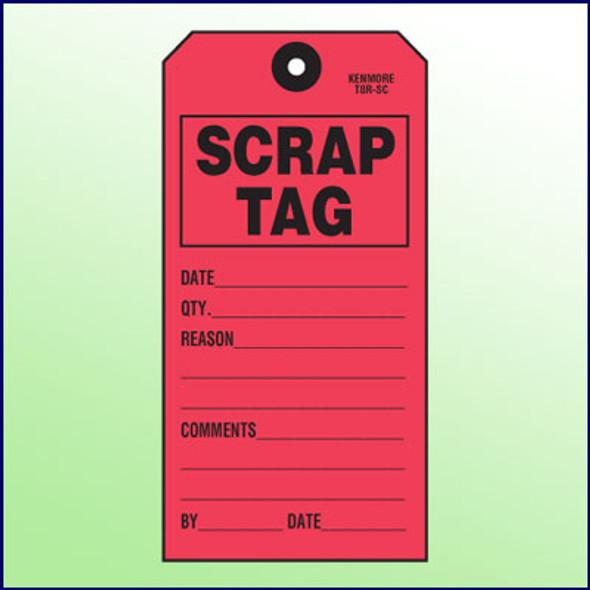 Scrap Tag - Size 8