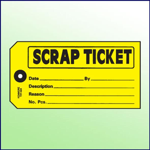 Scrap Ticket Tag - Size 5