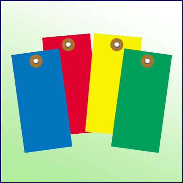Blank Tyvek Tag Size 8 Various Colors