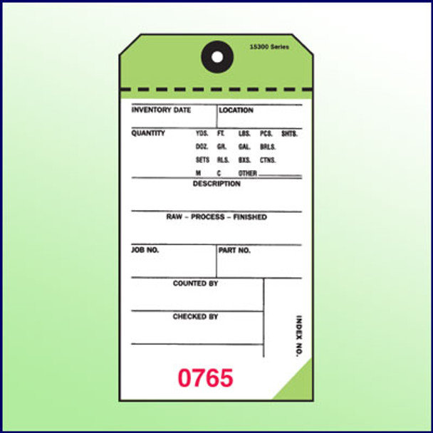 2Part NCR Tags (Green)