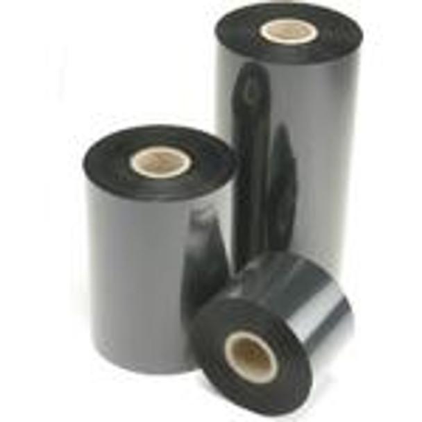 "SONY - DNP 4085 Premium Black Wax (Resin Enhanced) - Thermal Transfer Ribbon for Sato Printers - TR4085 PLUS BLACK WAX/RESIN TTR - COATED SIDE IN - 24 RLS/CASE 3.50"" X 1345' Sato Ribbons"