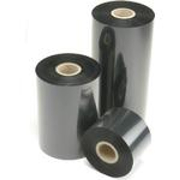 "SONY - DNP 4085 Premium Black Wax (Resin Enhanced) - Thermal Transfer Ribbon for Sato Printers - TR4085 PLUS BLACK WAX/RESIN TTR - COATED SIDE IN  - 24 RLS/CASE 5.00"" X 1345' Sato Ribbons"