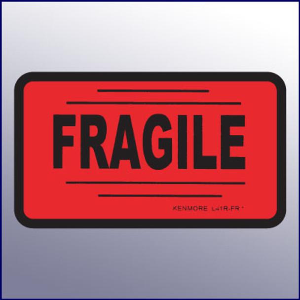 Fragile Label