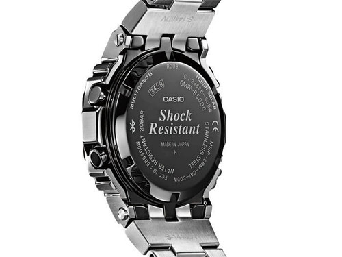 free shipping 5b44e 8a9d2 Casio G-Shock Stainless Full Metal 5000 Series - GMWB5000D-1