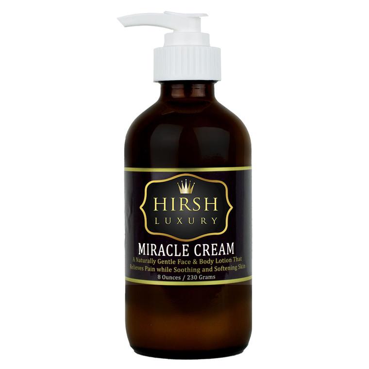 Hirsh Luxury Miracle Cream Face & Body Lotion - 8 oz.