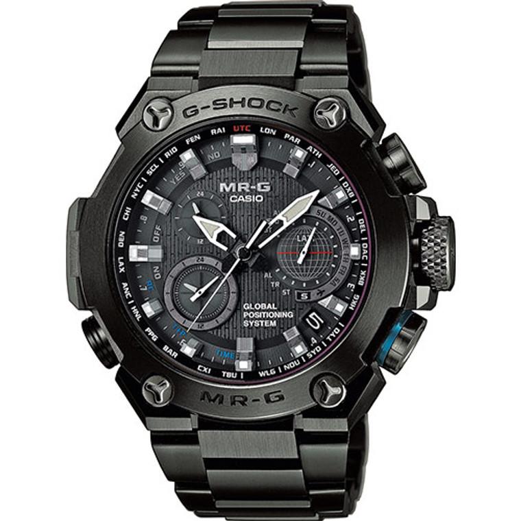 Casio G-Shock MR-G GPS Atomic Solar Hybrid  MRGG1000B-1A