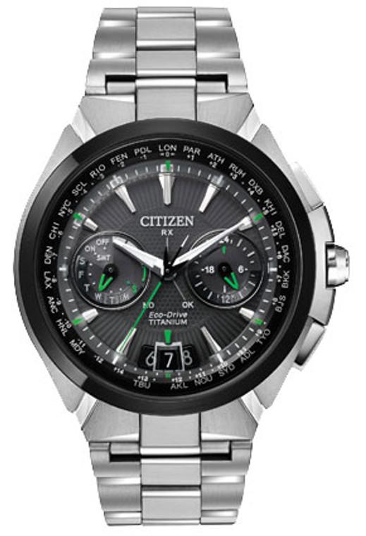 Citizen Attesa Eco-Drive Satellite Wave CC1084-63E