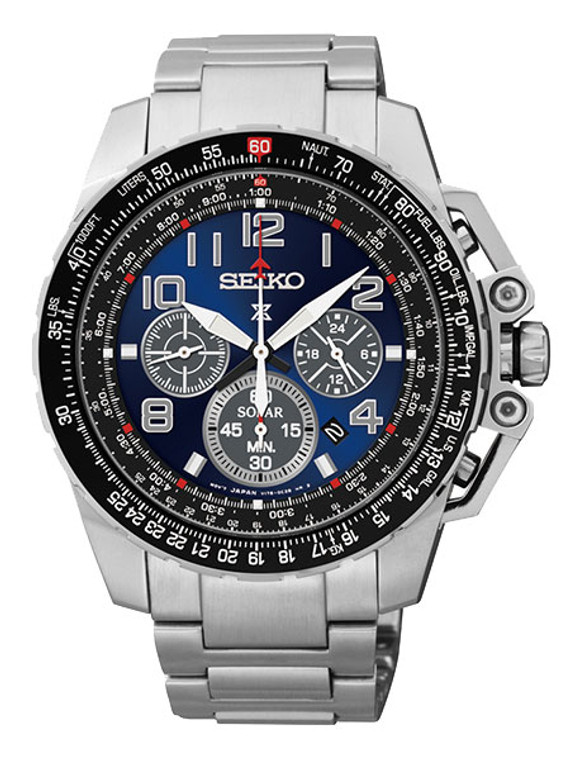 Seiko Prospex Aviation Solar Chronograph SSC275