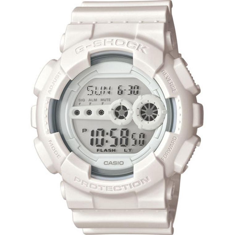 Casio G-Shock Classic Digital Reverse LCD GD100WW-7