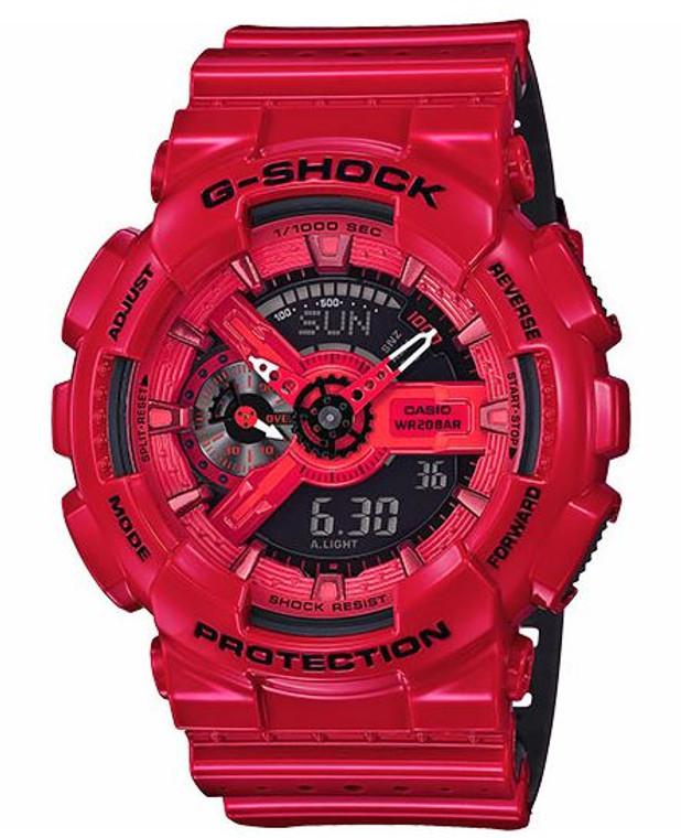 Casio G-Shock Perforated Band  ga110lpa-4acr