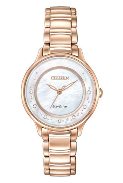 Citizen Ladies Eco-Drive L Series Sunrise EM0382-86D