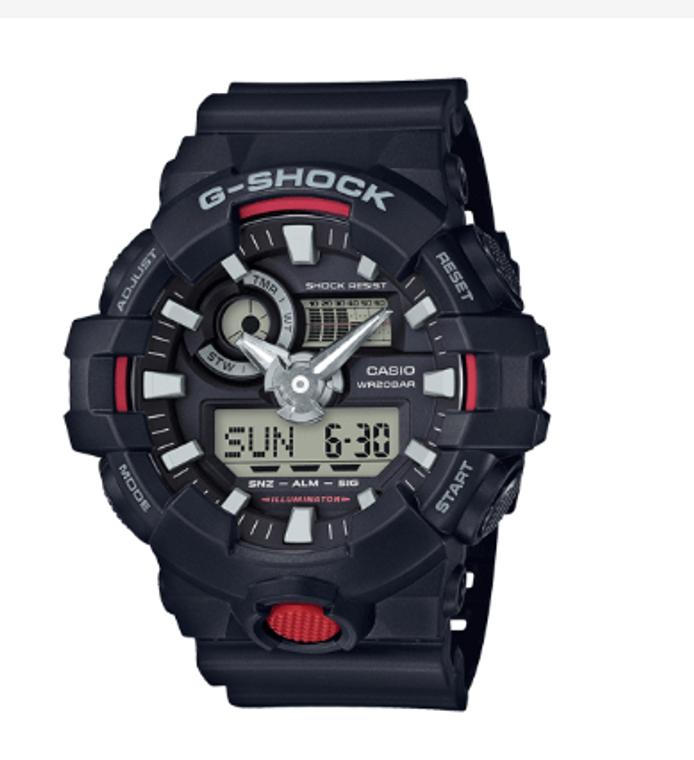 Casio G-Shock Super Illuminator GA700-1ACR