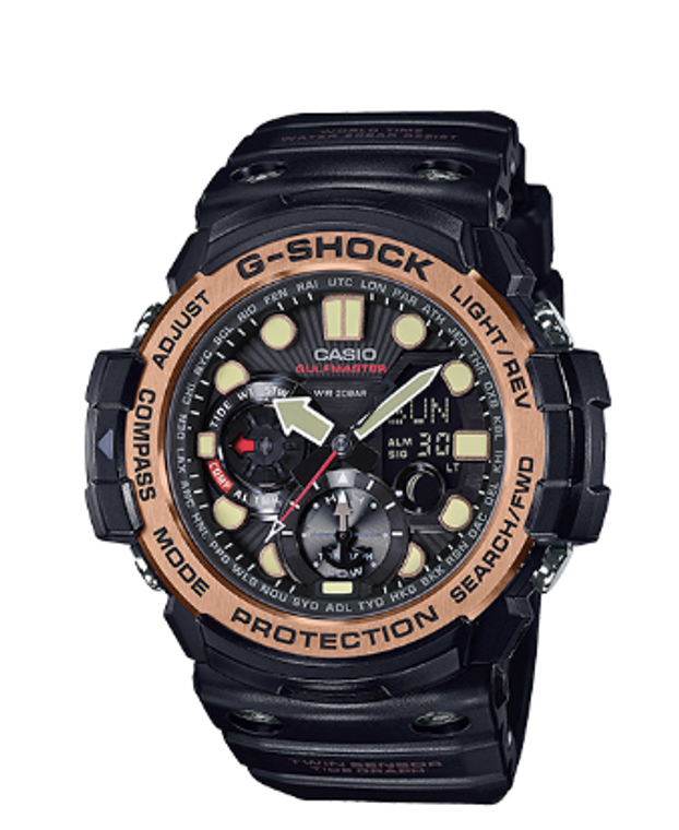 Casio G-Shock Gulfmaster Twin Sensor  GN1000RG-1ACR