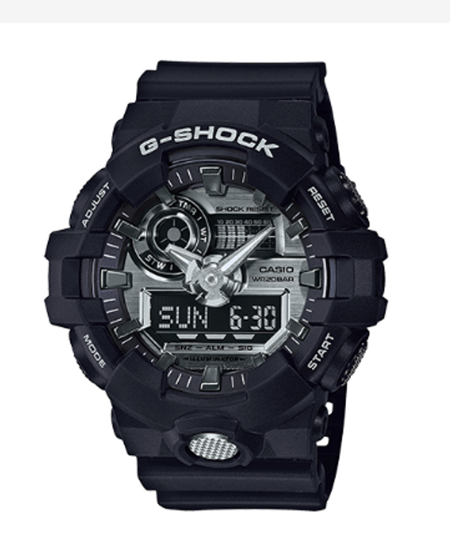 Casio G-Shock Super Illuminator GA710-1A