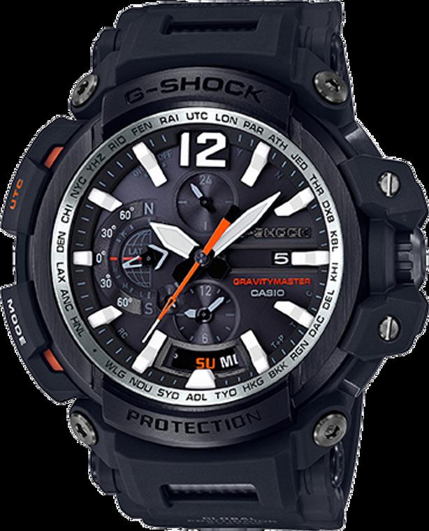 Casio G-Shock Aviation GPS Hybrid Gravity Master Bluetooth GPW2000-1A