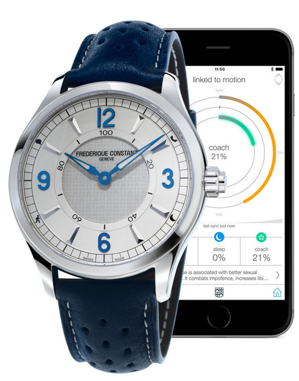 Frederique Constant Horological Smart Watch Mens  FC-282AS5B6