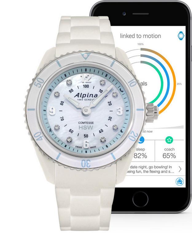 Alpina Horological Smartwatch   AL-281MPWND3V6