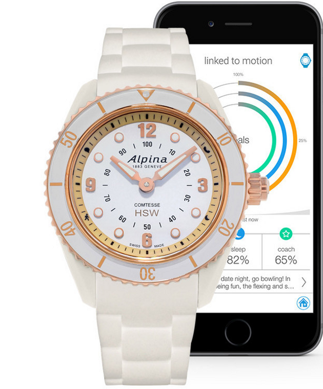 Alpina Horological Smartwatch   AL-281WY3V4