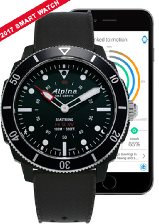 Alpina SEASTRONG HOROLOGICAL SMARTWATCH AL-282LBB4V6