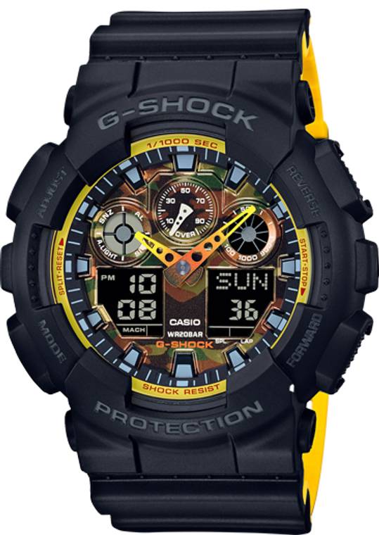 Casio G-Shock Ana-Digital GA100BY-1A