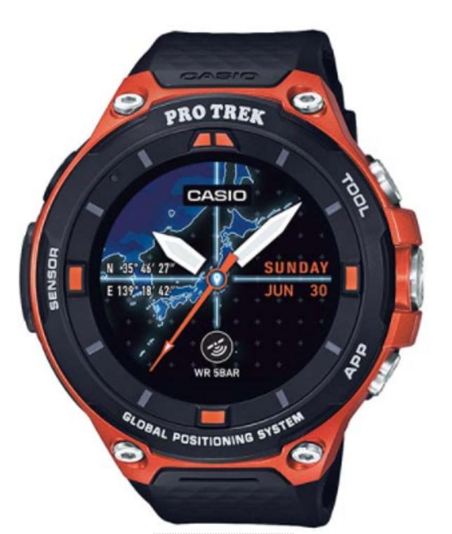 Pro Trek by Casio Smart Outdoor Watch WSD-F20RG