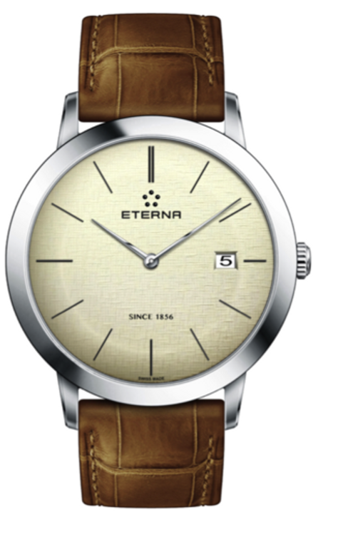 Eterna Eternity Gent Quartz 40mm Stainless steel Ref: 2710.41.90.1384