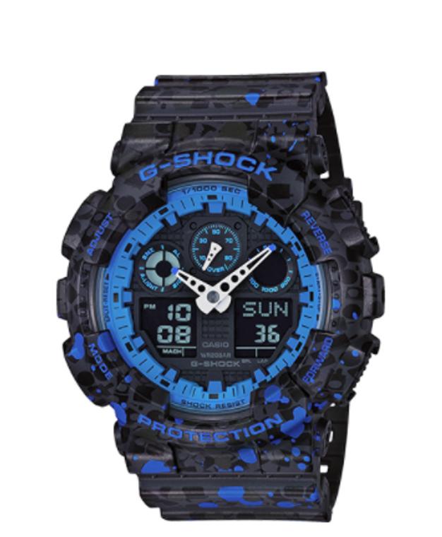 "Casio G-Shock Ana-Digital GA100ST-2A  ""STASH"""