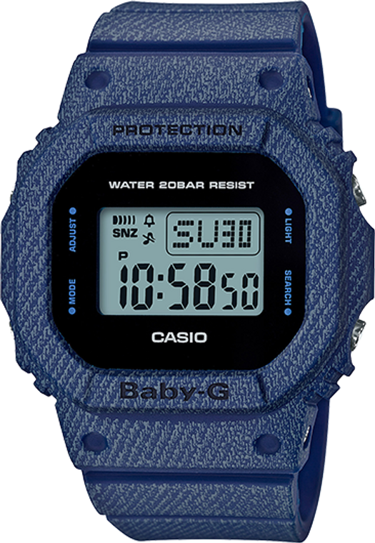 Casio G-Shock Baby-G DENIM'D Limited Edition BGD560DE-2C