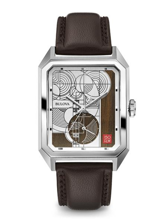 Bulova Men's Frank Lloyd Wright Limited to 500 Pieces World-wide 96A197