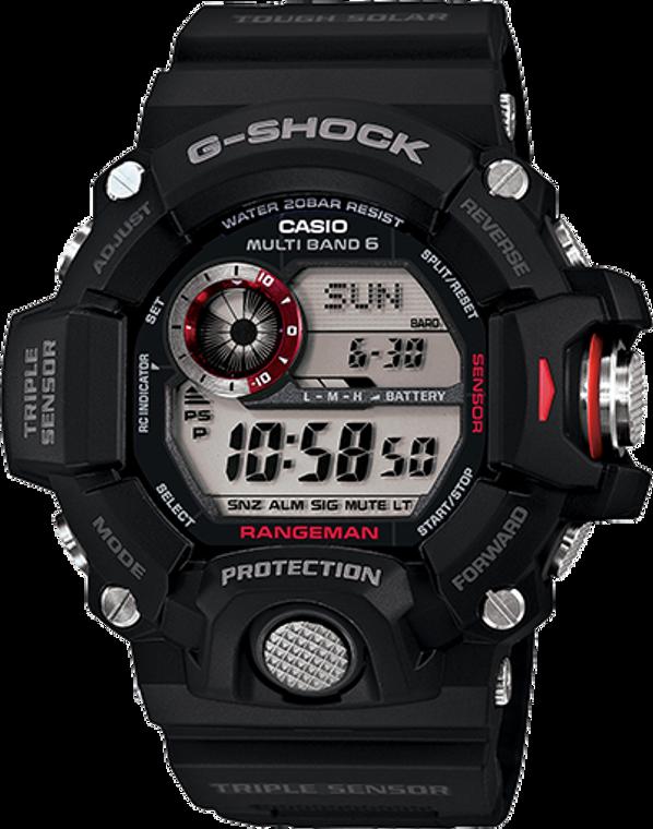 G-Shock Rangeman Limited Atomic Solar Black GW9400-1