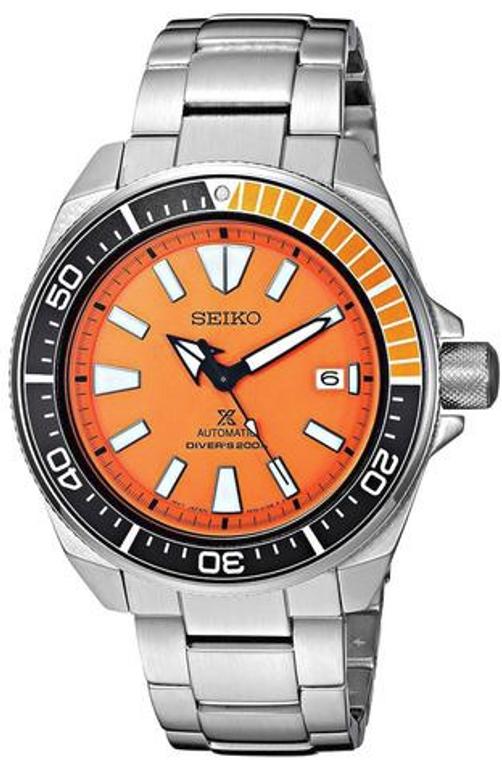 Seiko Prospex Automatic Orange Samurai SRPC07