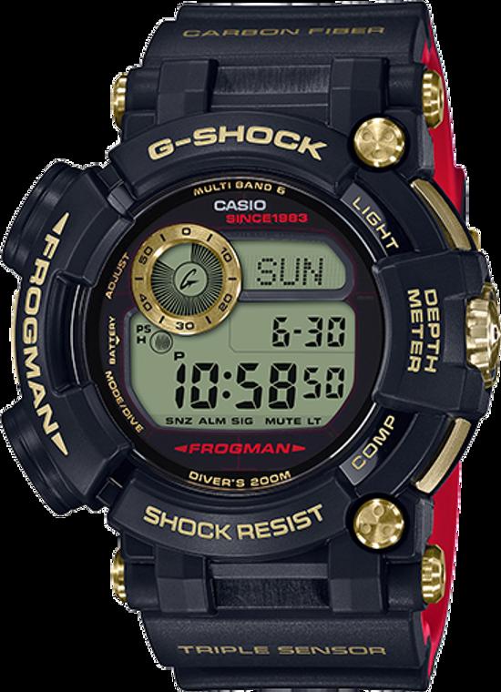 G-Shock Frogman Gold Tornado 35th Anniversary Limited Edition GWF-D1035B-1CR