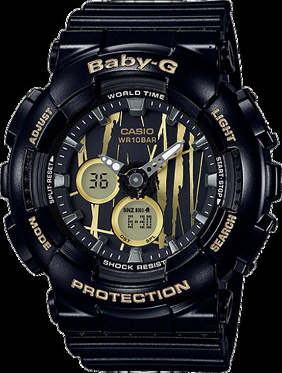 Casio G-Shock Baby-G Ana-Digital Scratch Pattern BA-120SP-1A