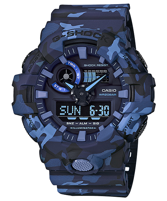 G-Shock Ana/Digital Camo Series GA-700CM-2A