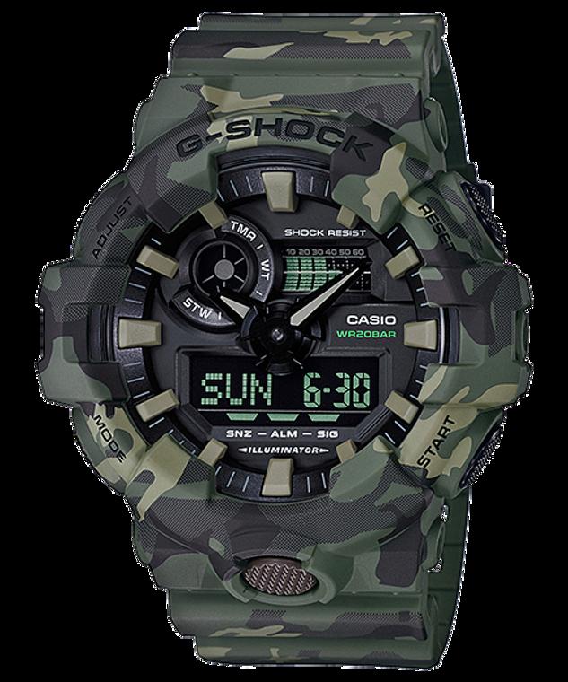 G-Shock Ana/Digital Camo Series GA-700CM-3A